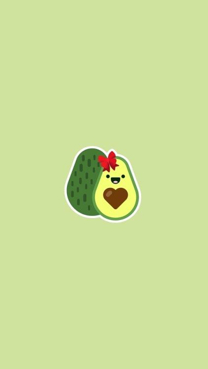 Cute Wallpapers To Draw Cute Avocado Tumblr
