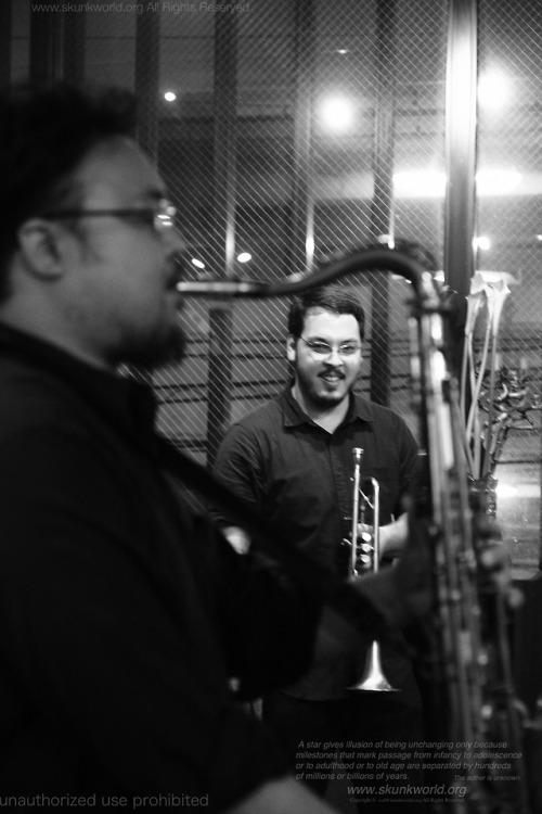 Michael Yusuke Senko: trumpet桝屋 良平:ts-MASUYA, Ryohei-小倉カサブランカhttp://casablanca-live.jp/