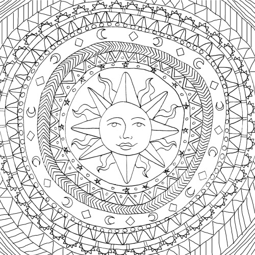 coloring pages on tumblr