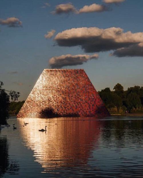 tumblr_pc4i74la2N1qfzymao1_500 just-good-design:London's Serpentine lake includes this summer season... Contemporary