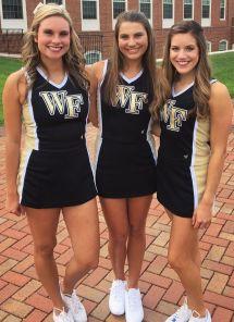 2018 Wake Forest Cheerleaders