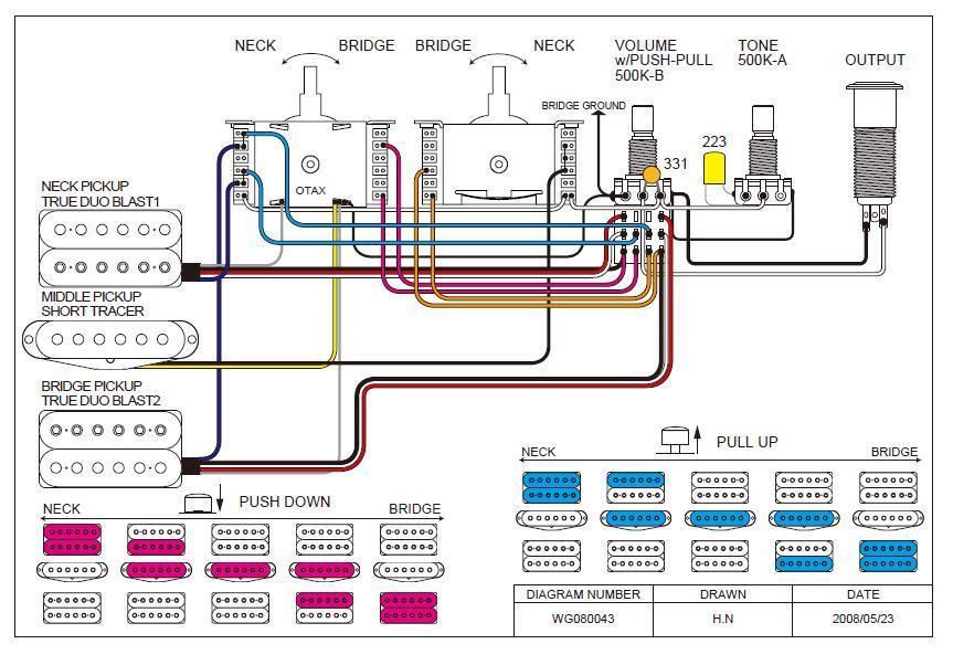 wiring diagram dimarzio
