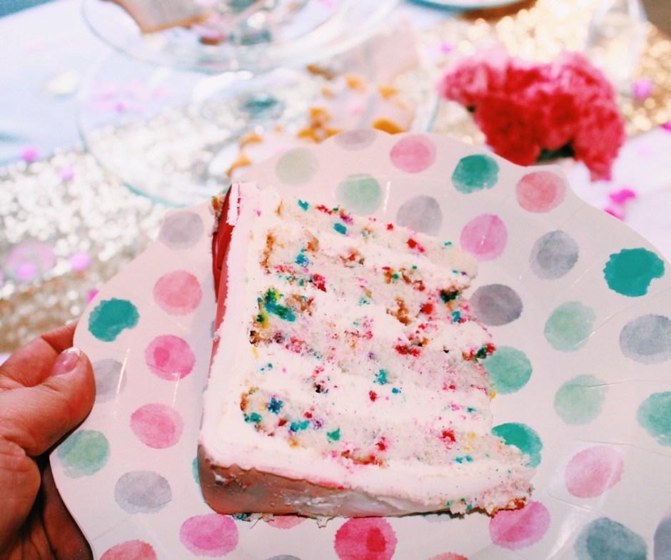 Elevated Homemade Funfetti Cake I Mischief Maker Cakes #mischiefmakercakes #bemischievious