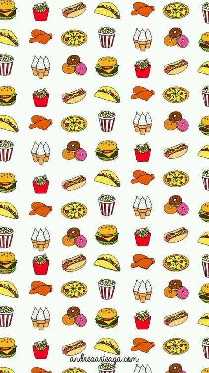 Cute Hamburger Wallpaper Hamburger Wallpaper Tumblr