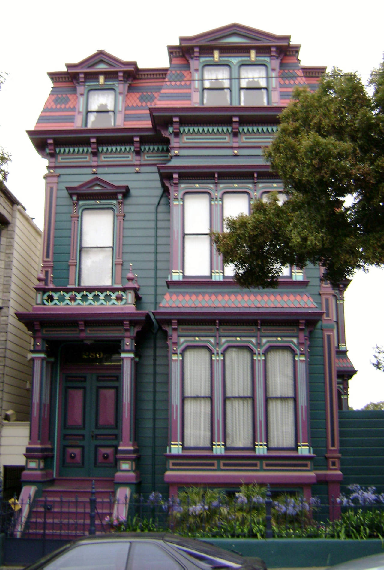 Victorian Houses — San Francisco Victorians By Larry