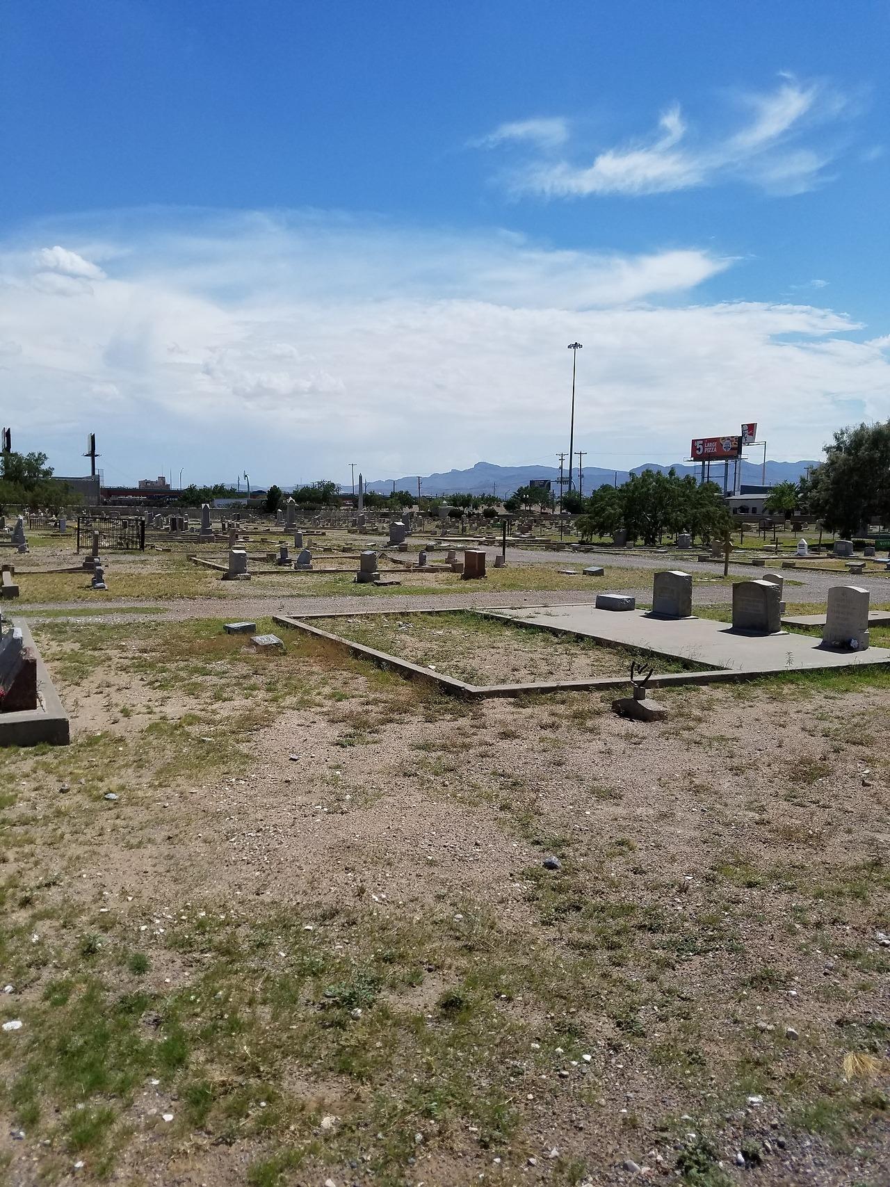 celestial spider Concordia cemetery in El Pa… – Ghosts