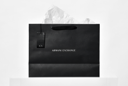 "tumblr_ozjyb6MnCZ1r5vojso8_500 Brand Identity forArmani Exchange by Anagrama""In collaboration... Design"