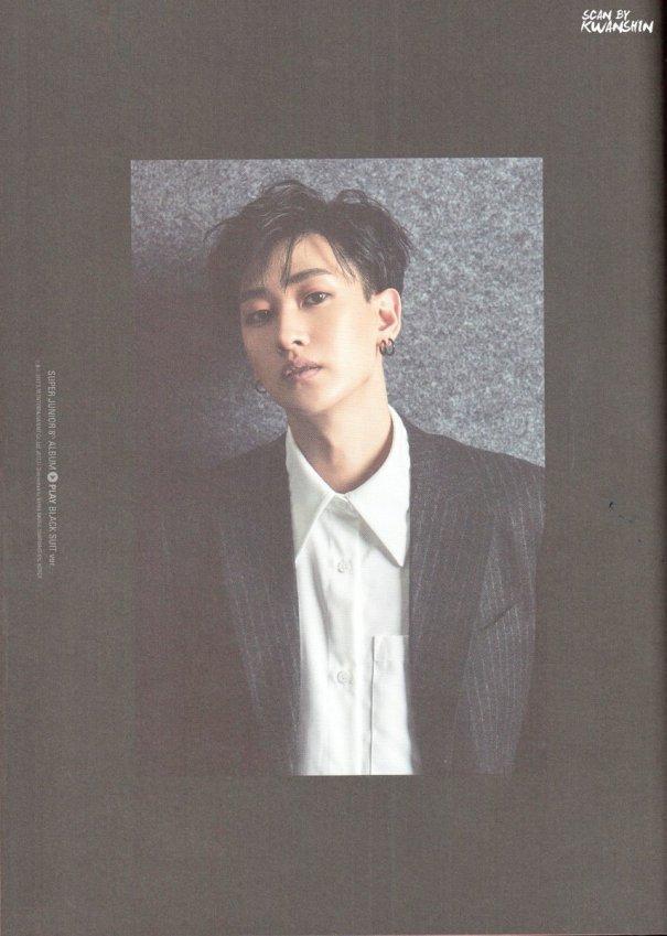 hyukwoon: Eunhyuk: Play Album- Black Suit Version Hyukjae thanks