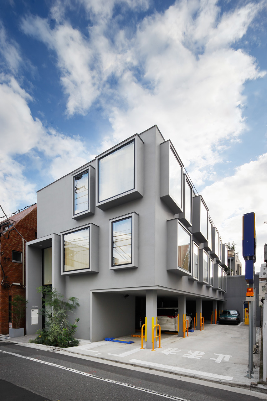 Architagsarchitags KINO Architects Eight House Tokyo