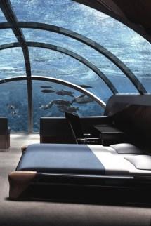 Cool Underwater Bedroom