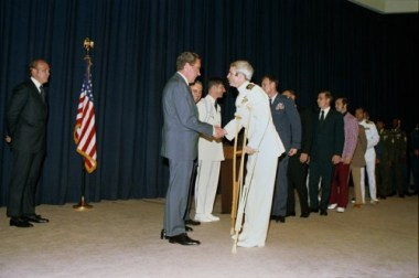 Image result for President Nixon welcomes home McCain