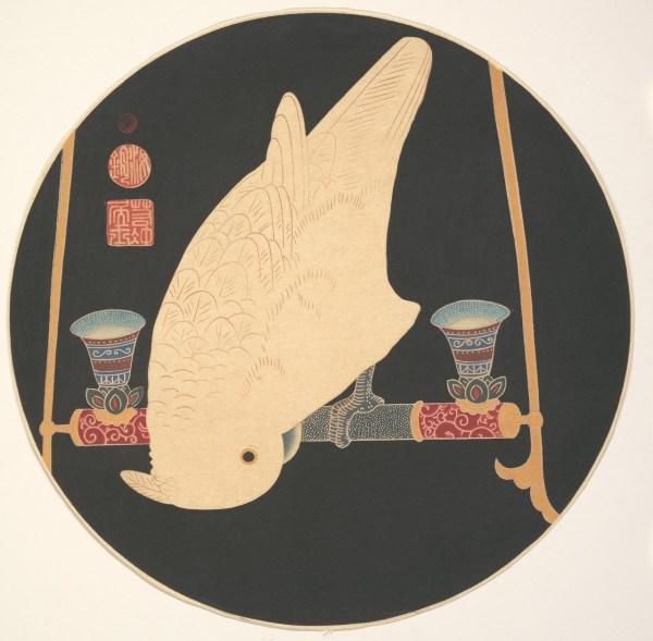 1900 Japanese Woodblock Print