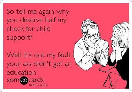 child custody ex wife funny ile ilgili görsel sonucu