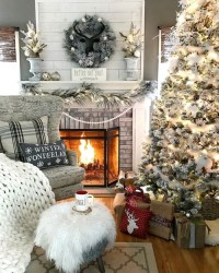 cozy christmas living room | Tumblr