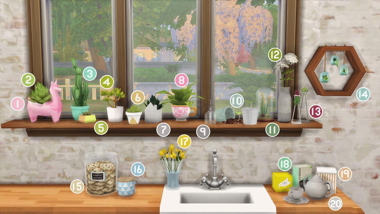 Ikea Kitchen Sims 4