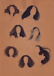 hair drawing