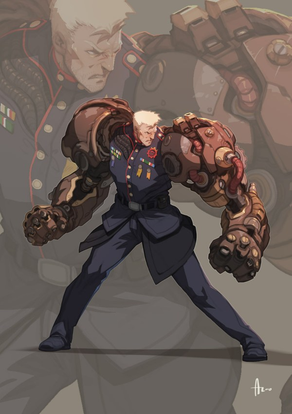 Dieselpunk Character Concept