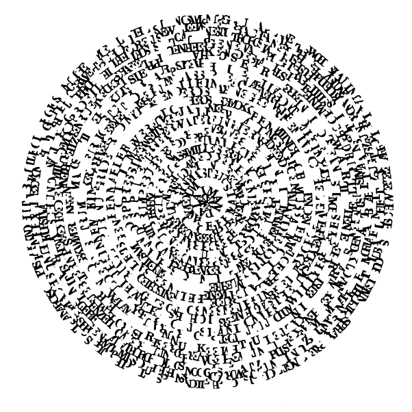 Visual-Poetry — Visual Text by Ferdinand Kriwet