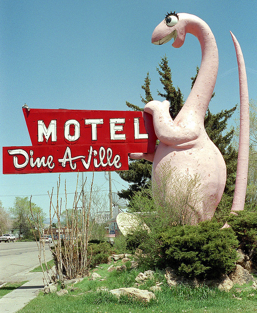 Dine A Ville Motel - Vernal, Utah U.S.A.