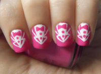 tuxedo nails on Tumblr
