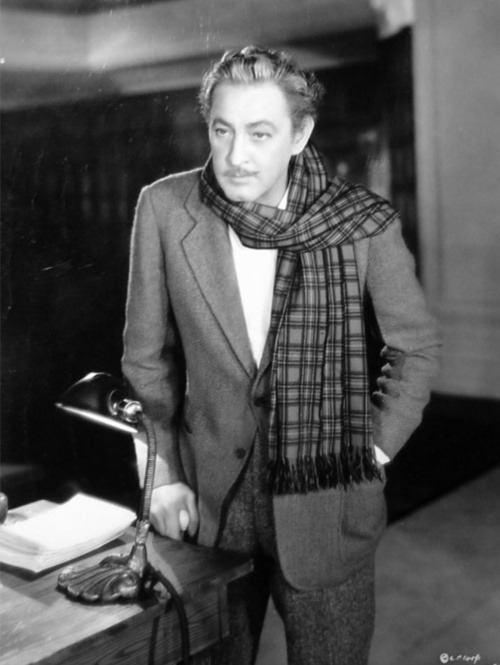 John Barrymore in a publicity still for Twentieth Century