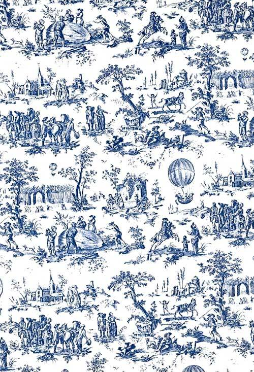 Fall Cottage Wallpaper Toile De Jouy On Tumblr