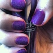diy velvet manicure nail art obsession
