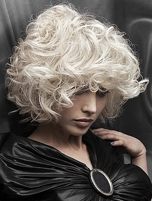 Curly Hairstyles Pictures Prom Wavy Wedding