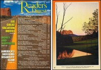 reader s digest front and back cover august 1994 art ...