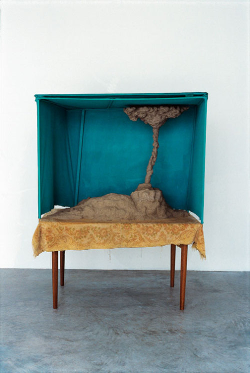 tumblr_m8x2y96vD71qfc4xho1_500 Artist from Netherlands Mark Manders. Small Landscape, 1997His... Contemporary