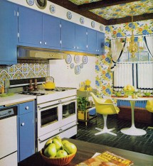 Super Seventies Early 1970s Kitchen Design