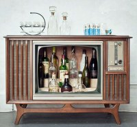 A Bar Inside a TV