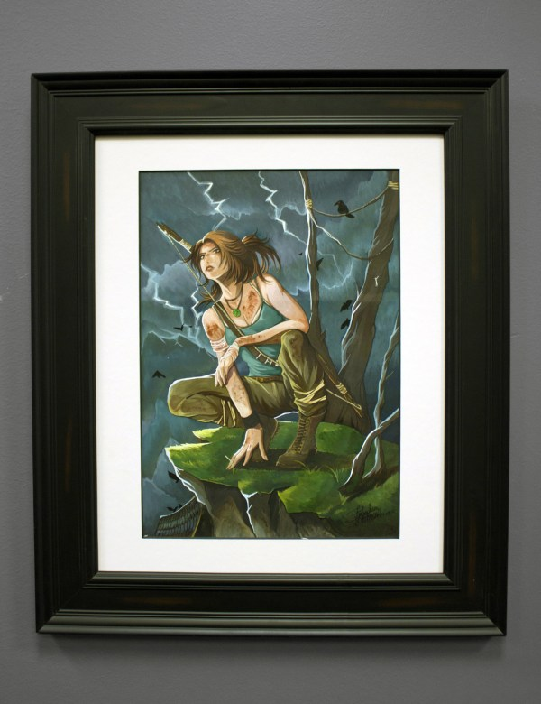 Official Tomb Raider Square Enix Art Auction