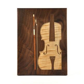 Violin Cutting Board