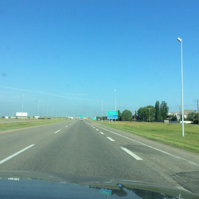 highway in Saskatchewan