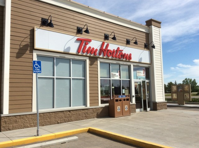 Tim Horton's in Langdon