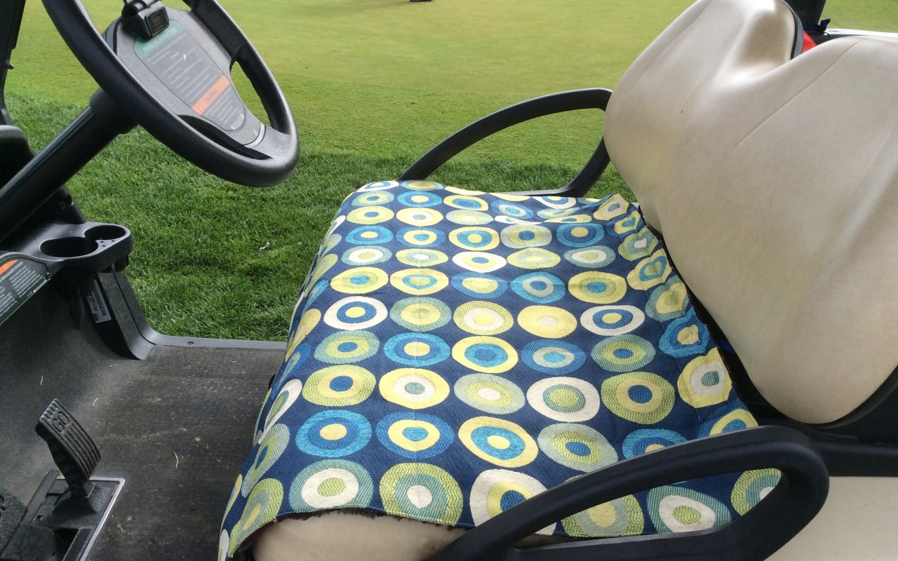 Golf Car Seat Cover Custom Made