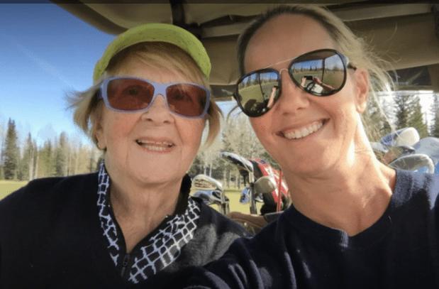 Maureen and Bridget at Redwood Meadows