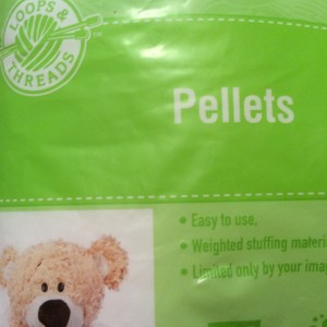 Pellets for the envelopes