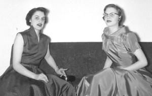 Liz and Maureen