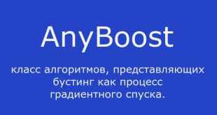Алгоритм AnyBoost