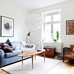Mid Century Modern Living Room Armchair Where To Place Furniture Mixture Of Old And New In A Swedish Apartment ...