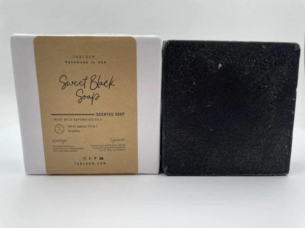 7 Abloom Sweet Black Soap