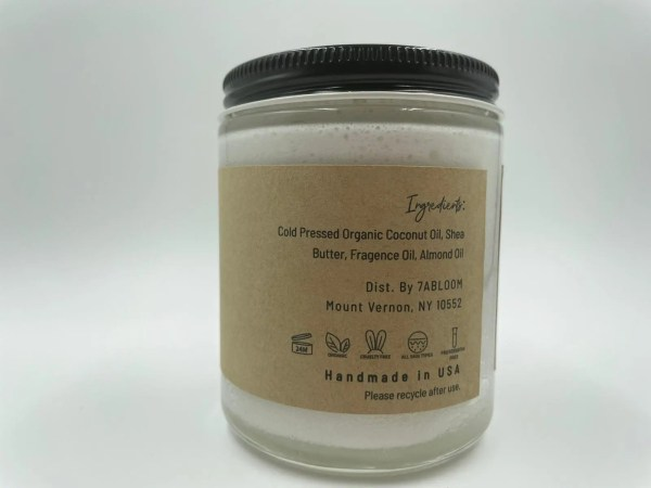 7 abloom whipped body butter