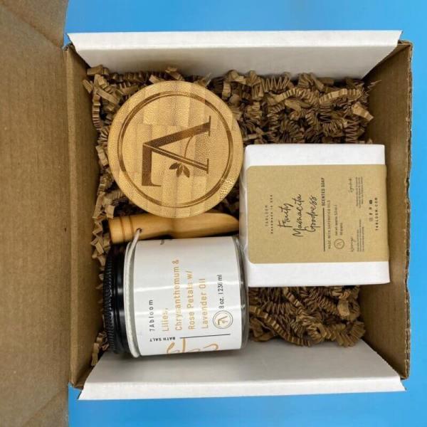 Moisturizing Butter, Soap and Bath Salt Gift Set