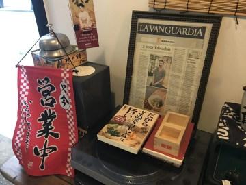 石塚さんを紹介する新聞記事