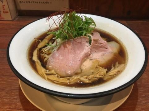 鶏白湯ラーメン(醤油)