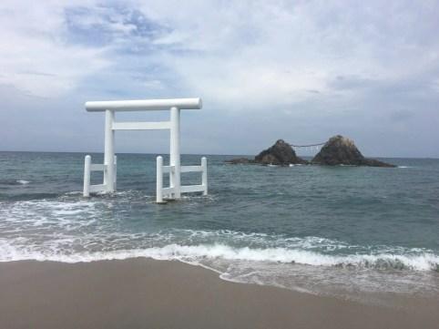 桜井二見ヶ浦の夫婦岩