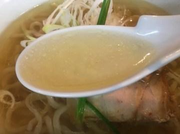 無化調スープ