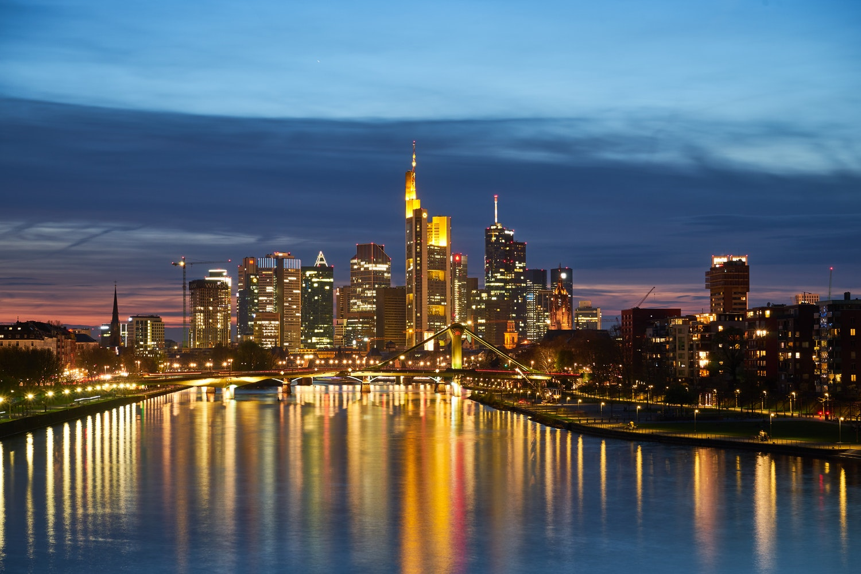 Deutschherrnbrücke, Frankfurt am Main, Germany